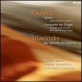 CD Gloria - Sinfonia per organo Francis Poulenc Robert Shaw Atlanta Symphony Orchestra