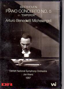 Michelangeli Plays Beethoven - DVD di Ludwig van Beethoven