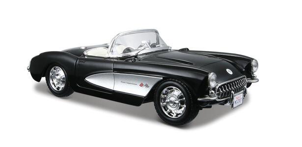 Maisto. Chevrolet Corvette 1957 Vintage 1:24 - 2