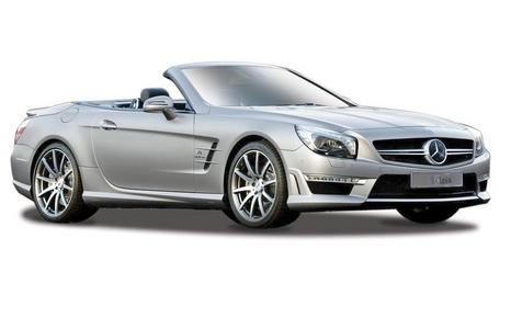 Giocattolo Maisto. 2012 Mercedes Benz SL AMG 63 Convertible Maisto 0