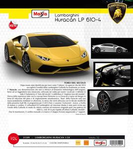 Maisto. Lamborghini Huracan LP610-4 1:24