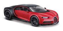 Maisto - Bugatti Chiron Sport 1:24 Black/Red