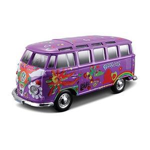 "Maisto. Volkswagen Van ""Samba"" Hippie Line. 1:24"