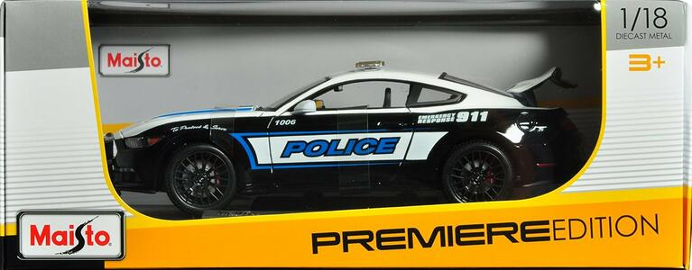 Maisto. Ford Mustan Gt Police - 2