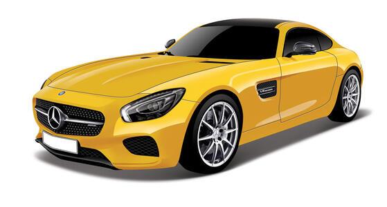 Maisto. Mercedes-Benz Amg Gt 1:18 - 3