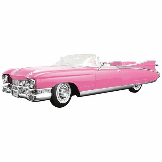 Auto Maisto Classic 1/18 Cadillac Eldorado Biarritz 1959 Rosa - 2