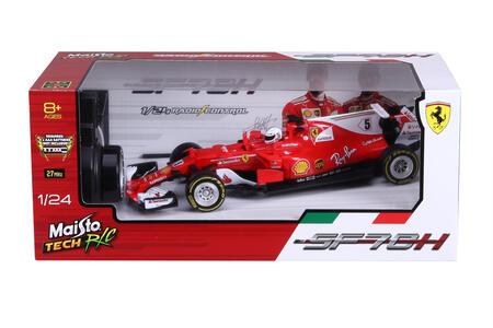 Maisto. Tech. Ferrari Sf70h 2017 Con Radiocomando 1:24 - 6