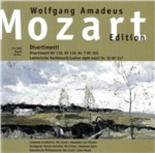 Divertimenti - CD Audio di Wolfgang Amadeus Mozart