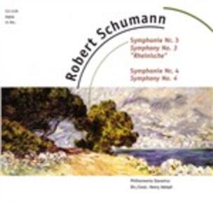 Sinfonie n.3, n.4 - CD Audio di Robert Schumann