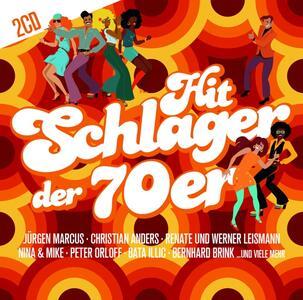 Hit Schlager der 70er - CD Audio