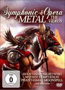 Symphonic & Opera Metal. The Videos - DVD