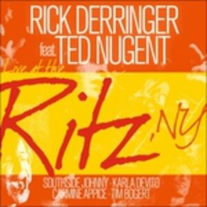 Live At The Ritz Ny - CD Audio di Rick Derringer
