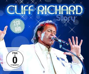 Cliff Richard Story - CD Audio + DVD di Cliff Richard