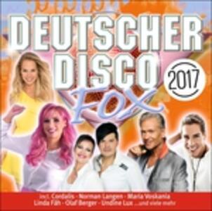 Deutscher Disco Fox 2017 - CD Audio