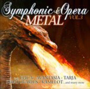 Symphonic & Opera Metal 3 - CD Audio