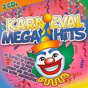 Karneval Megahits - CD Audio