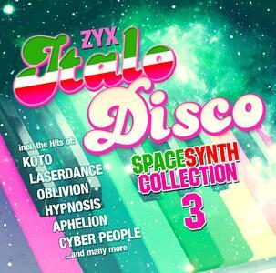 Zyx Italo Disco Spacesynt - CD Audio
