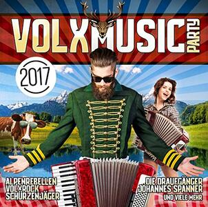 Volxmusic Party 2017 - CD Audio