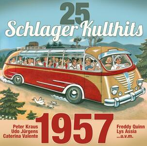 25 Schlager Kulthits 1957 - CD Audio