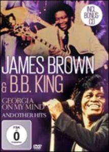 Georgia on My Mind - CD Audio + DVD di James Brown,B.B. King