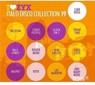 Zyx Italo Disco - CD Audio