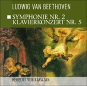 Symphonie n.2 - Klavierkon - CD Audio di Ludwig van Beethoven