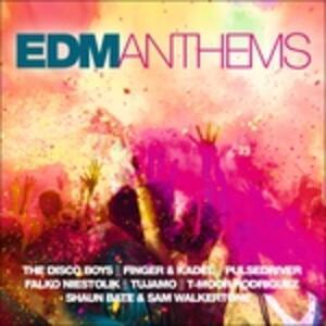 Edm Anthems - CD Audio