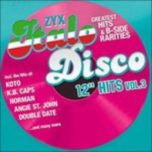 "Zyx Italo Disco 12"" - CD Audio"