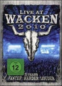 Live at Wacken 2010 - DVD