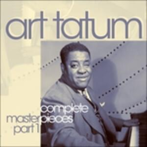 The Complete Master Pieces Part 1 - CD Audio di Art Tatum