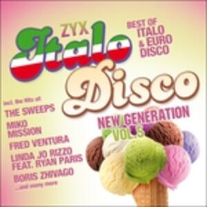 Zyx Italo Disco New - CD Audio