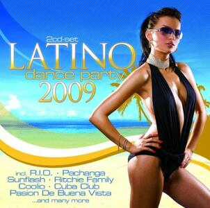 Latino Dance Party 2009 - CD Audio