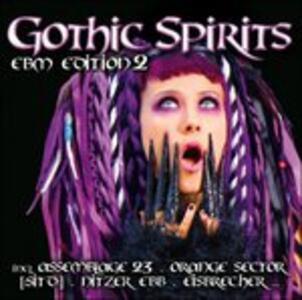 Gothic Spirits Ebm Vol.2 - CD Audio
