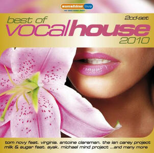 Best of Vocal House 2010 - CD Audio