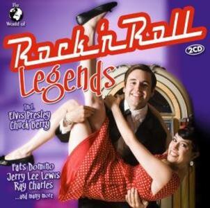 World of Rock & Roll Legends - CD Audio