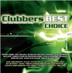 Clubbers Best Choice - CD Audio
