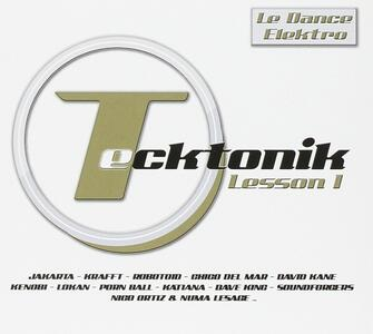 Tecktonik Lesson 1 - CD Audio