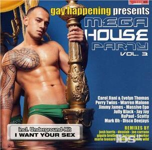 Gay Happening. Mega - CD Audio
