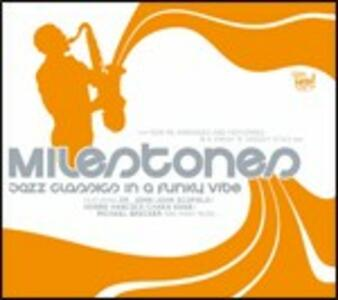 Milestones Jazz Classics in a Funky Vibe - CD Audio