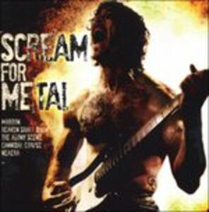 Scream for Metal - CD Audio
