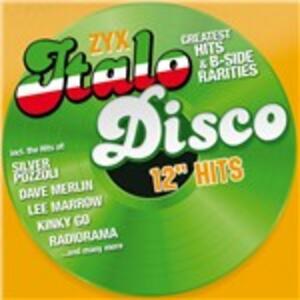 """Italo Disco 12"""" Hits - CD Audio"""