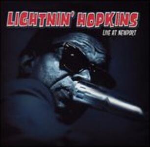 Live at Newport - CD Audio di Lightnin' Hopkins