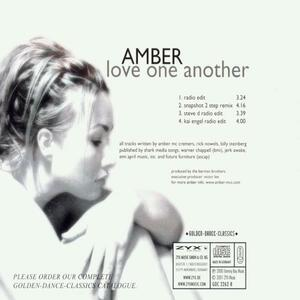 Love One Another - CD Audio Singolo di Amber - 2