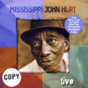Live - CD Audio di Mississippi John Hurt