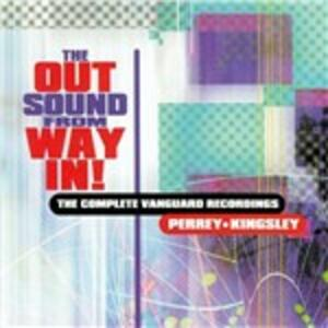 CD The Out Sound from Way in. Complete Vanguard Recordings Jean-Jacques Perrey Gershon Kingsley