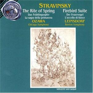 Rite of - CD Audio di Igor Stravinsky