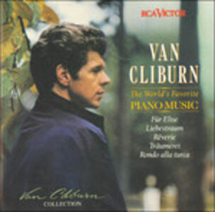 World's Favorite Piano - CD Audio di Van Cliburn