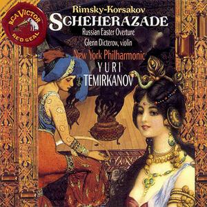 Scheherazade - Russian - CD Audio di Nikolai Rimsky-Korsakov