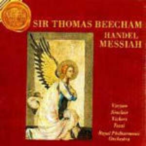 Il Messia - CD Audio di Sir Thomas Beecham,Georg Friedrich Händel,Royal Philharmonic Orchestra