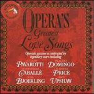 Opera's Greatest Love - CD Audio